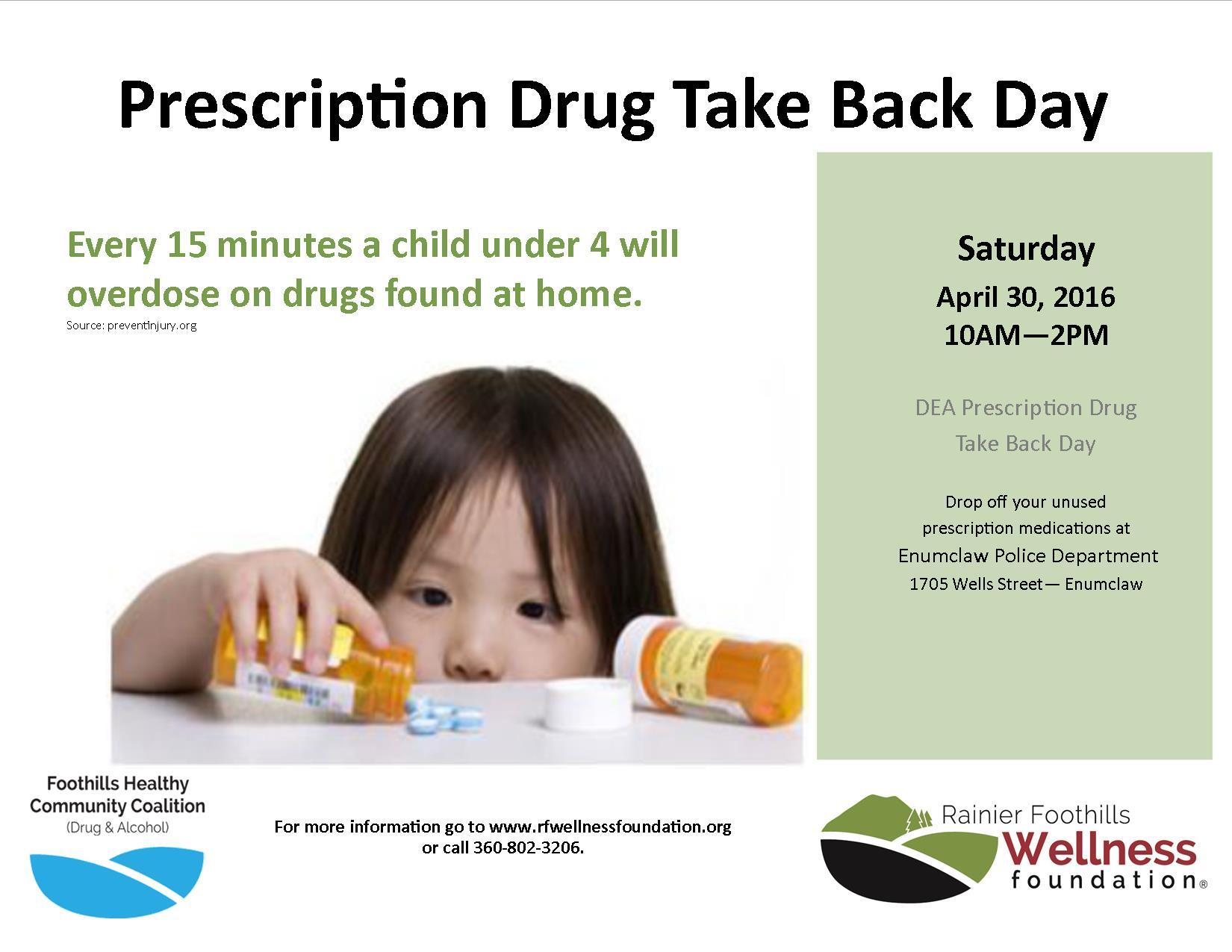 Drug Tack back day 4-30-16